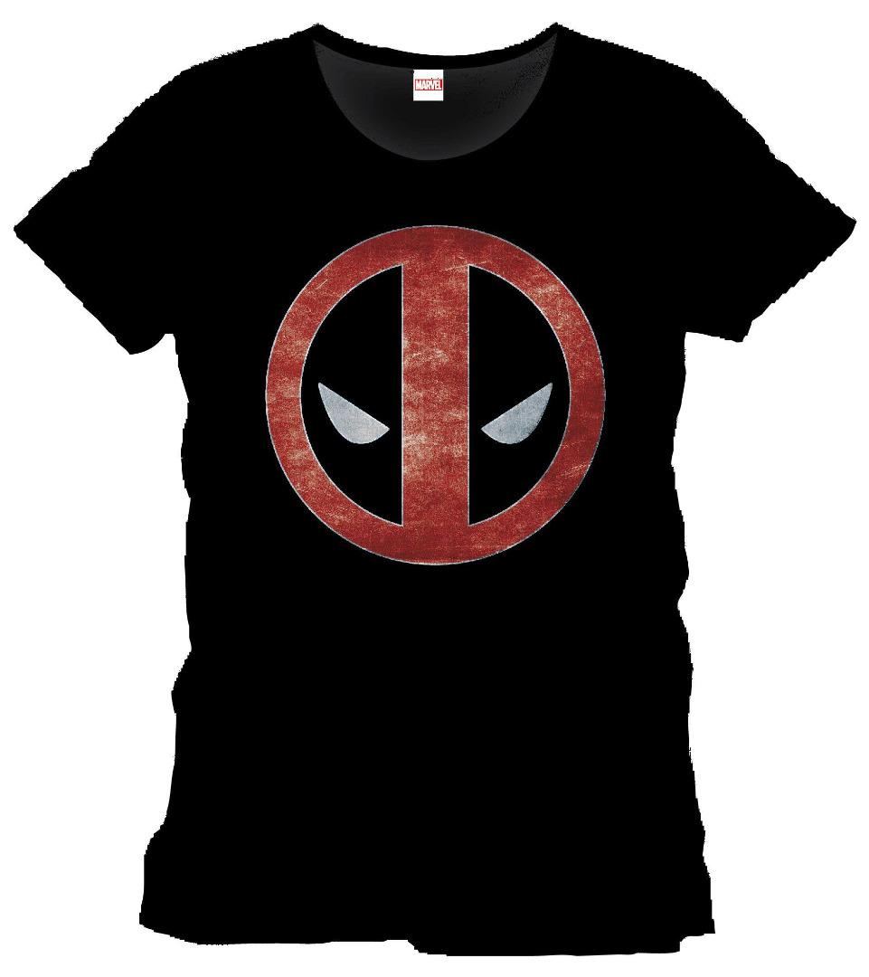 T-Shirt Marvel Deadpool Eyes Tamanho S