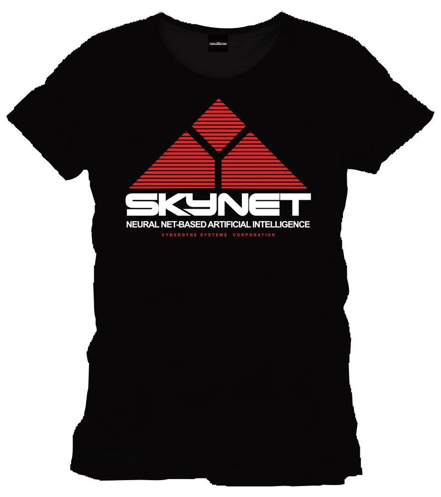 T-Shirt Terminator Skynet Tamanho S