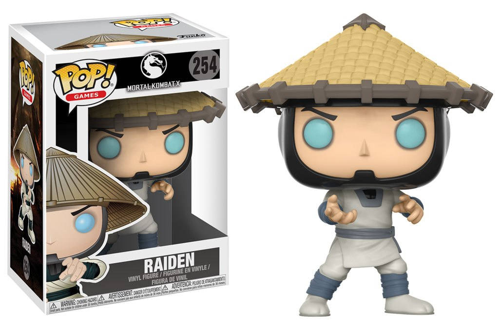 Mortal Kombat POP! Games Figure Raiden Vinyl Figure 10 cm