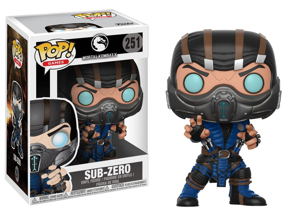 Mortal Kombat POP! Games Figures Subzero Vinyl Figure 10 cm