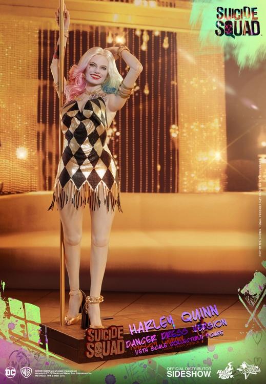 DC Comics: Harley Quinn Dancer Dress Version 1:6 Scale Figure