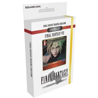 Final Fantasy VII TCG Starter Deck Display (6) English Version