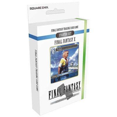 Final Fantasy X TCG Starter Deck Display (6) English Version