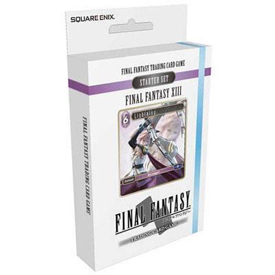 Final Fantasy XIII TCG Starter Deck Display (6) English Version