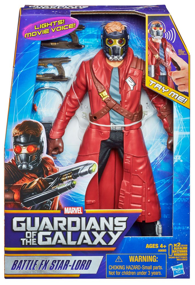 Guardians of the Galaxy Electronic Action Figure Battle FX Star-Lord 30 cm