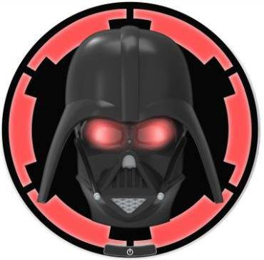 Star Wars 3D LED Wall Light Darth Vader 25 cm