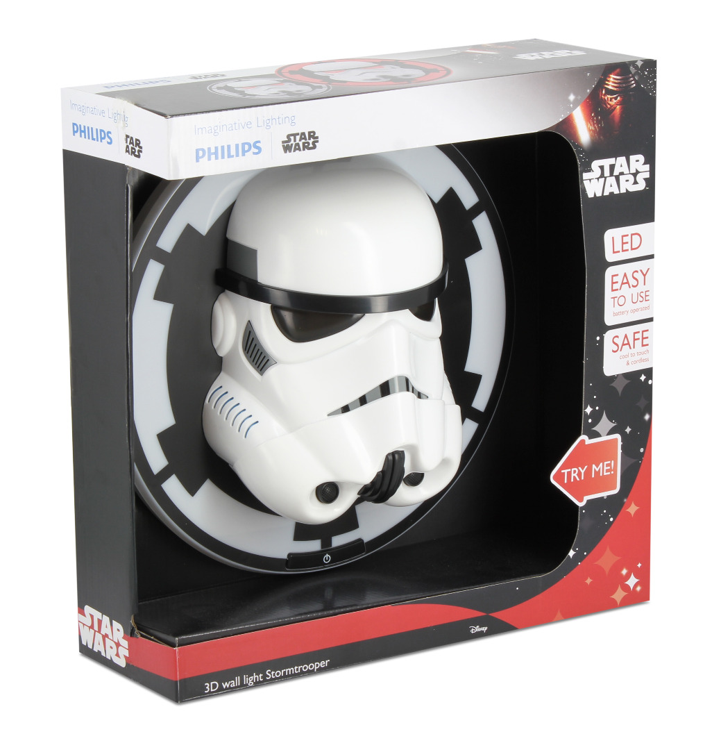 Star Wars 3D LED Wall Light Stormtrooper 25 cm