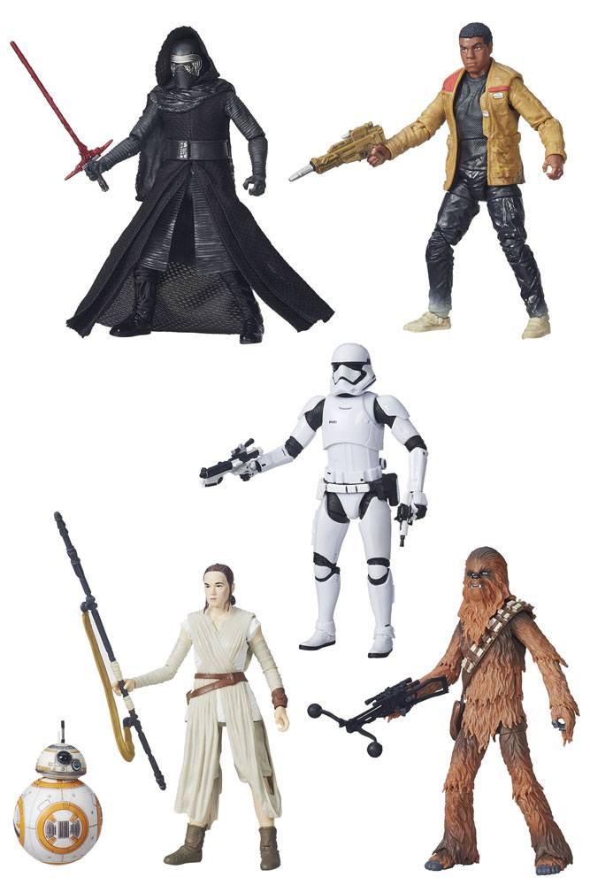 Star Wars Episode VII Black Series 5 Pack Action Figures 2015 Wave 15 cm