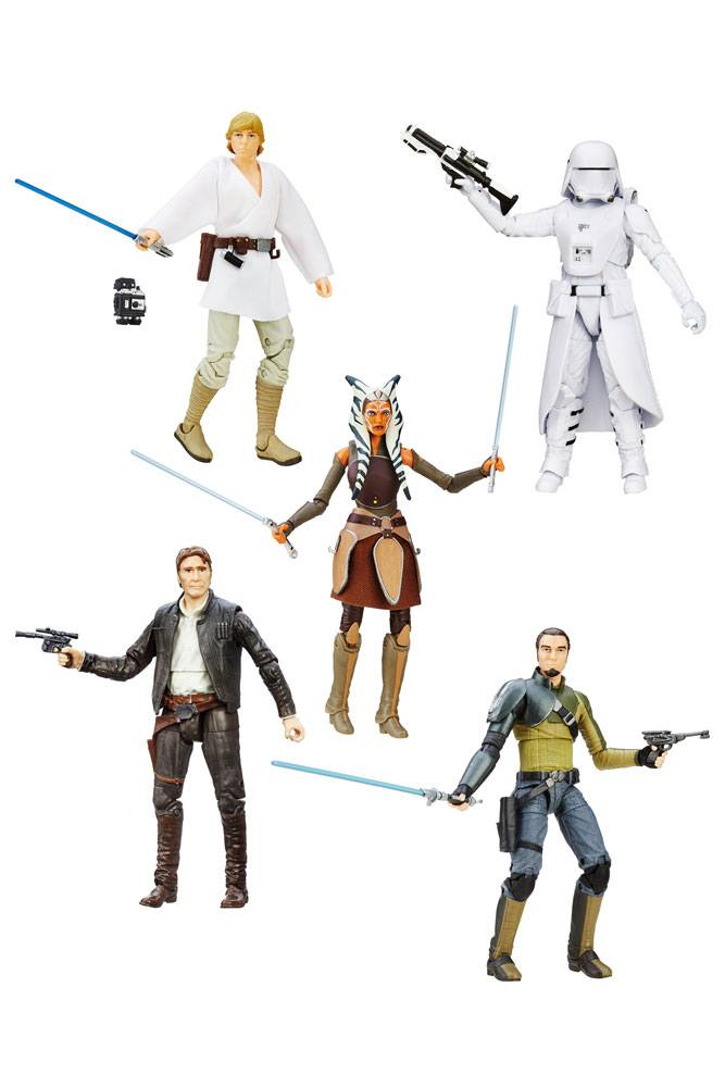 Star Wars Episode VII Black Series 5 Pack Action Figures  2016 Wave 2 15 cm