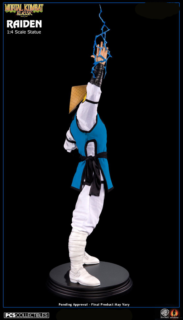 Mortal Kombat Klassic: Lord Raiden 1:4 Scale Statue 71 cm
