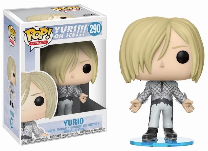 Pop! Anime: Yuri on Ice - Yurio Vinyl Figure 10 cm