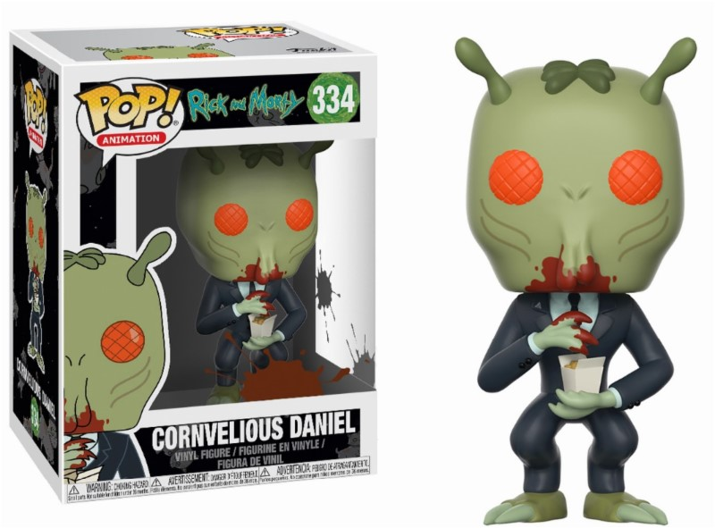 Pop! Cartoons: Rick and Morty - Cornvelious Daniel with Mulan Sauce 10 cm