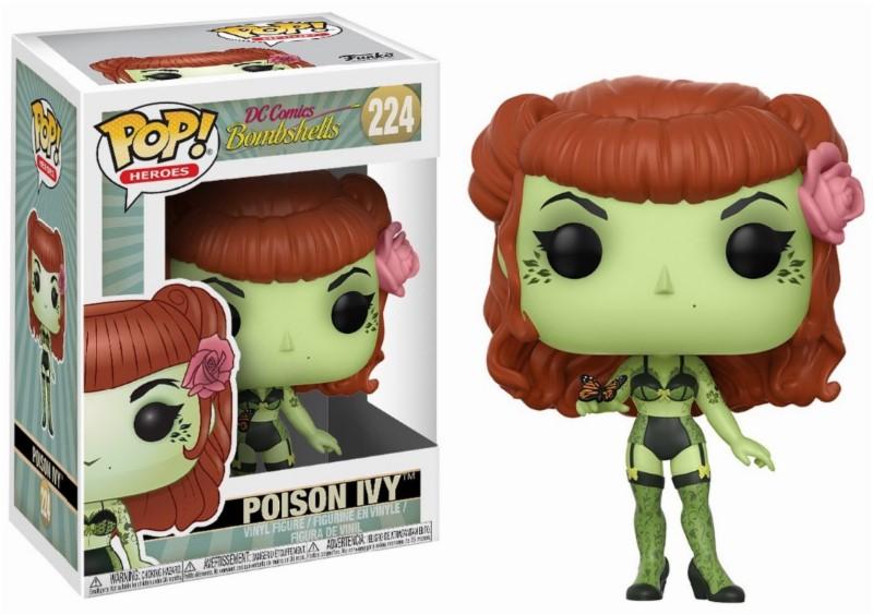 Pop! DC Comics: Bombshells - Poison Ivy Vinyl Figure 10 cm