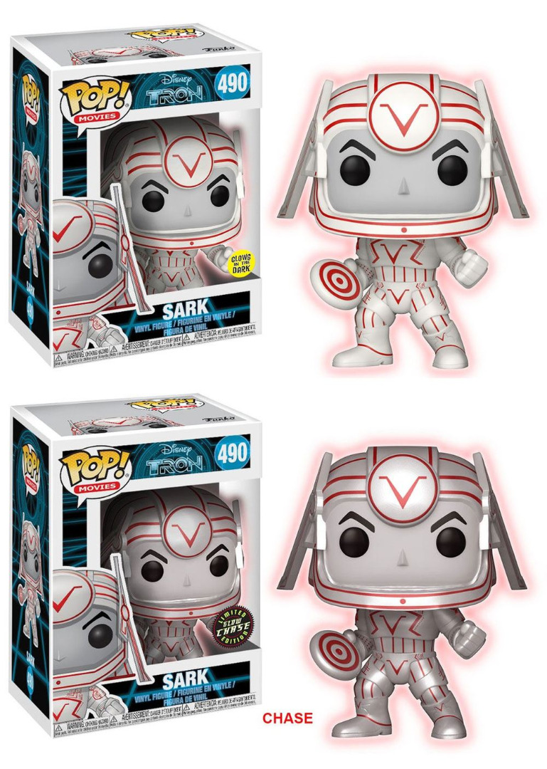 Pop! Disney: Tron - Sark GITD + Limited Glow Chase Edition 10 cm