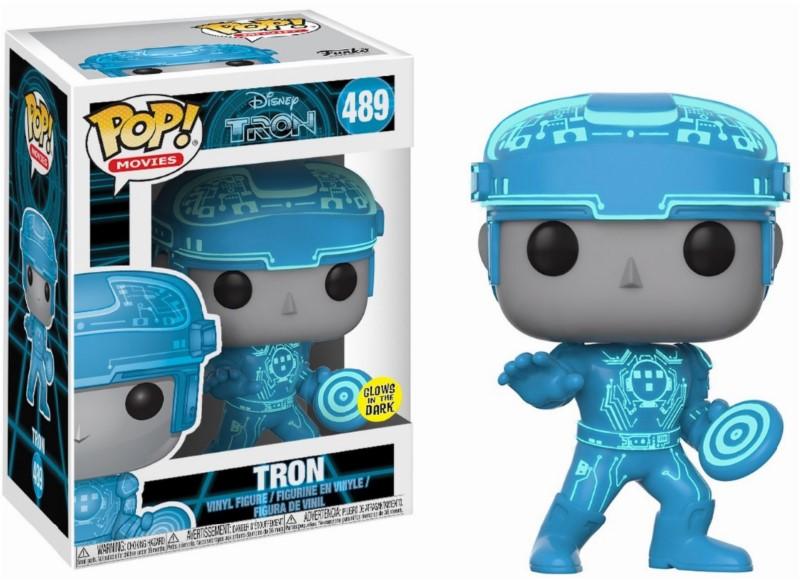 Pop! Disney: Tron - Tron Glow in the Dark Vinyl Figure 10 cm