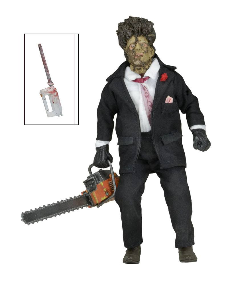 Texas Chainsaw Massacre 2 Retro AF 30th Anniversary Leatherface 20 cm