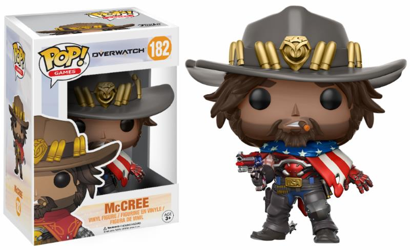 Pop! Game: Overwatch - USA McCree Limited Edition Vinyl Figure 10 cm
