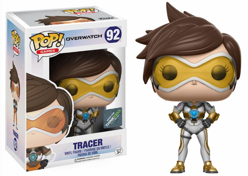 Pop! Game: Overwatch - Tracer Posh Limited Edition Vinyl Figure 10 cm