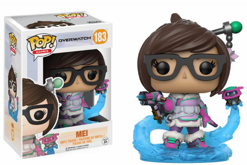 Pop! Game: Overwatch - Mei Snowball Colour Limited Edition 10 cm