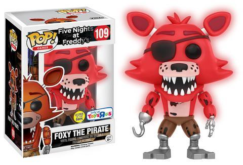 Pop! Game: Five Night at Freddy`s Foxy Red GITD Limited Edition 10 cm
