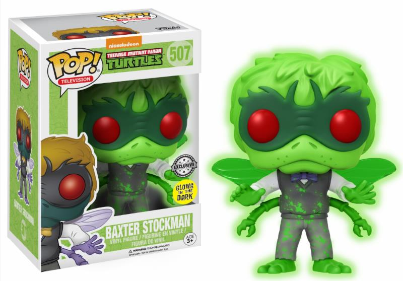 Pop! Cartoons TMNT Baxter Stockman Glow in the Dark Exclusive Edition 10 cm