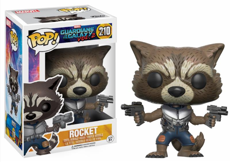 Pop! Marvel: Guardians of the Galaxy 2 - Rocket Limited Edition 10 cm