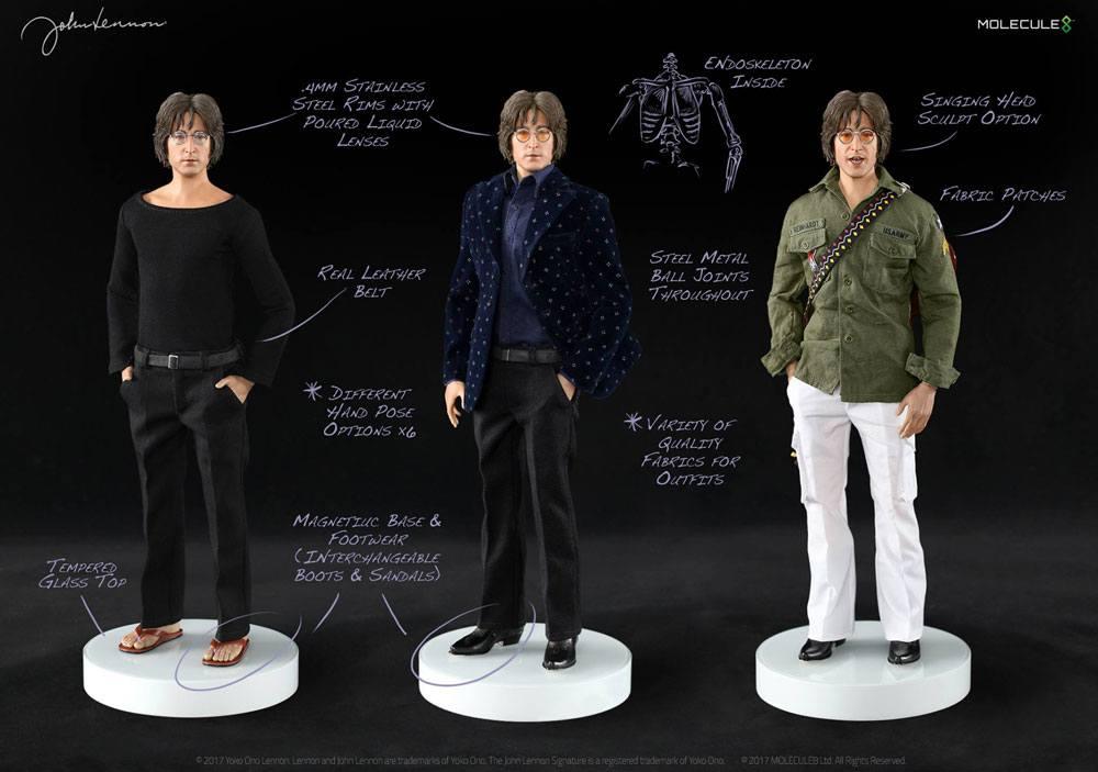 John Lennon Action Figure 1/6 Imagine 30 cm