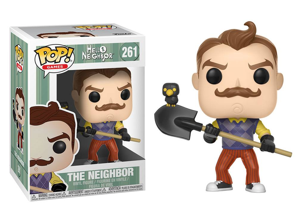 Hello Neighbor POP! Games Vinyl Figure The Neighbor 10 cm