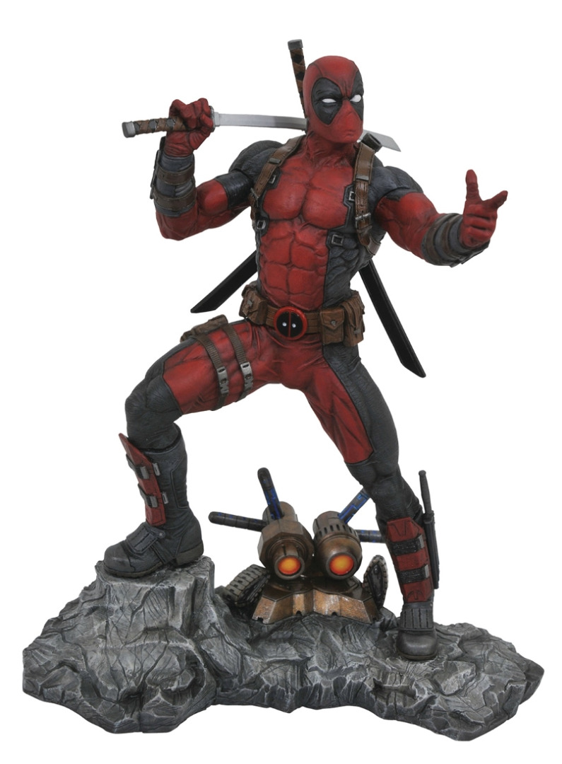 Marvel Premier Collection: Deadpool Resin Statue 33 cm