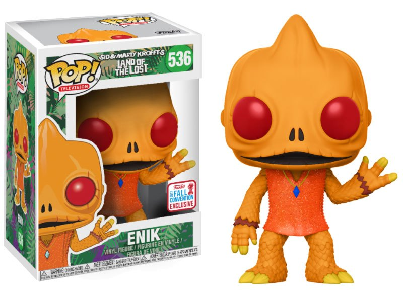 Land of the Lost POP! Television Vinyl Figure Enik NYCC 2017
