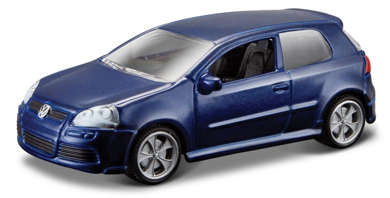 Vw Golf R32 2006 1:64 (Blue metalic/Azul Metálico)