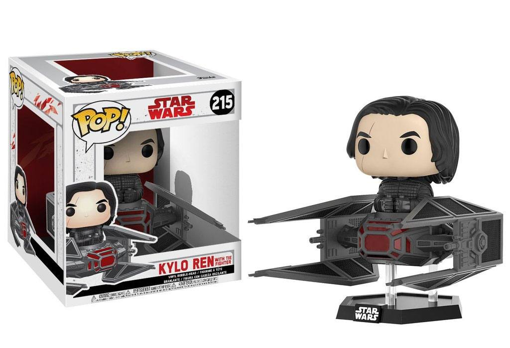 Star Wars Episode VIII POP! Vinyl Bobble-Head Kylo Ren on Tie Fighter