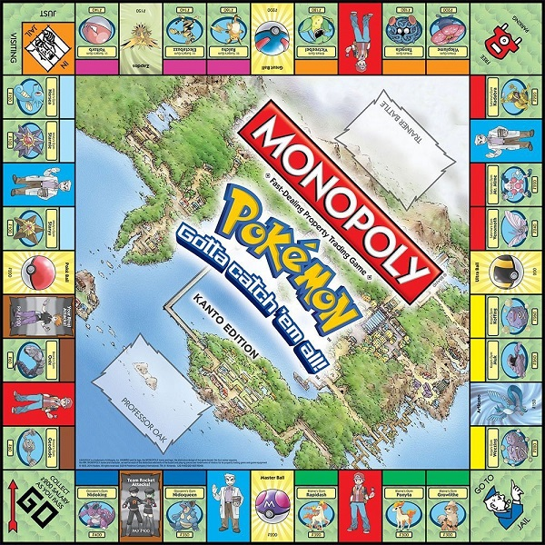Pokemon Board Game Monopoly *English Version*