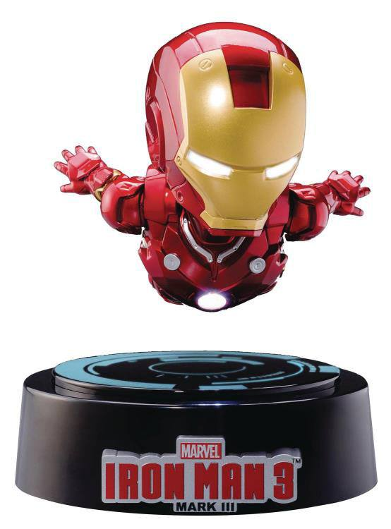 Iron Man 3 Egg Attack Floating Model with Light Up Function Iron Man Mark