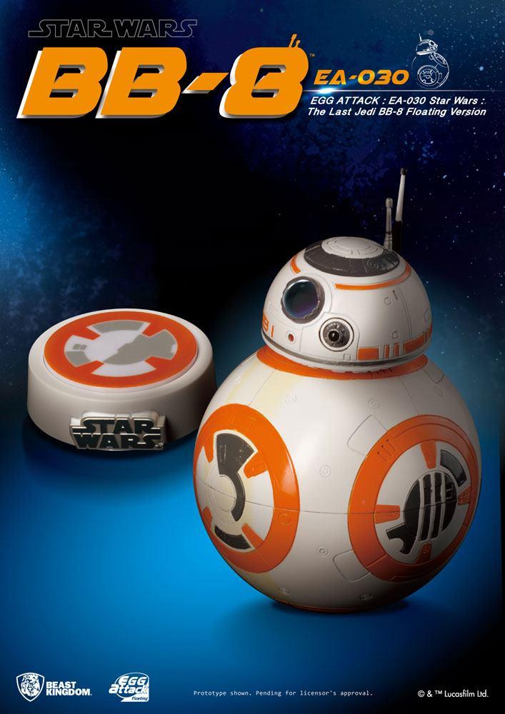 Star Wars Episode VIII EggAttack Floating Model with Light Up Function BB-8