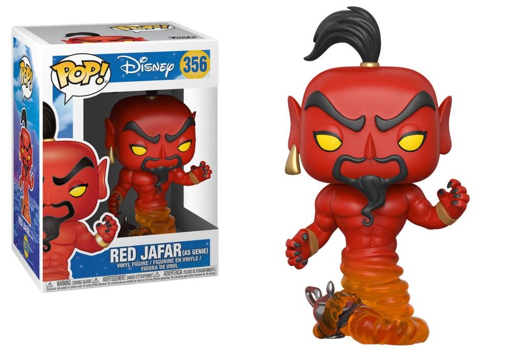 Aladdin POP! Vinyl Figures Red Jafar As Genie Vinyl Figure 10 cm