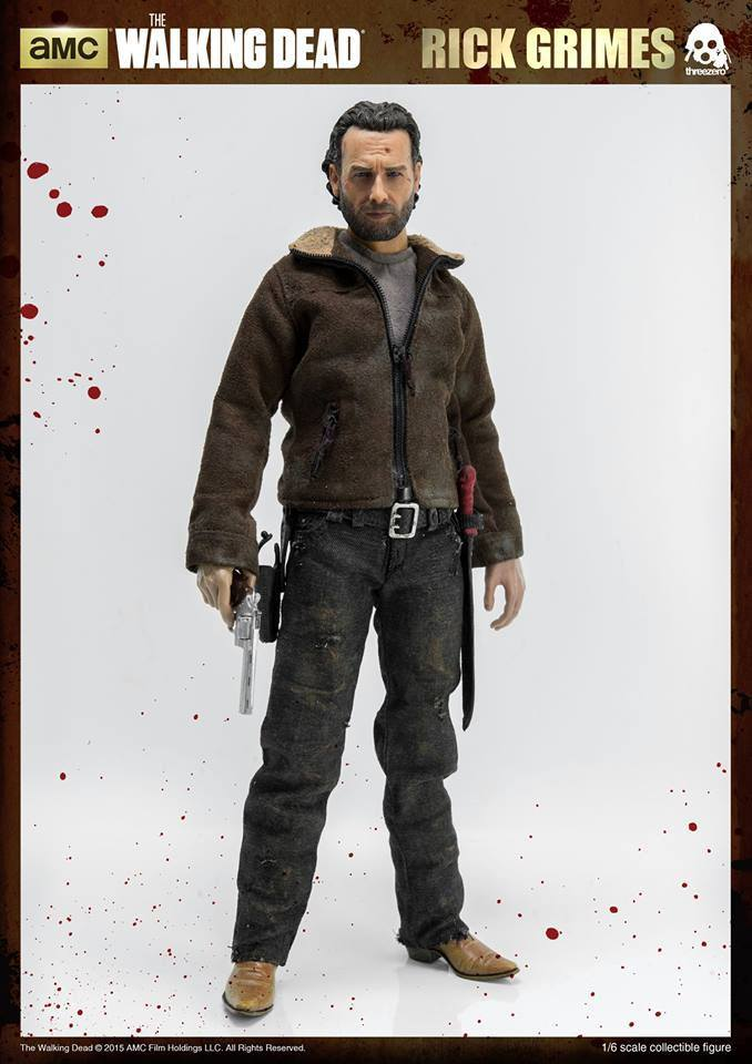 The Walking Dead Action Figure 1/6 Rick Grimes 30 cm