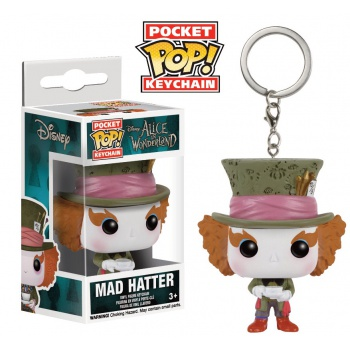 Funko Pocket POP! Keychain Alice In Wonderland Mad Hatter Vinyl Figure 4 cm