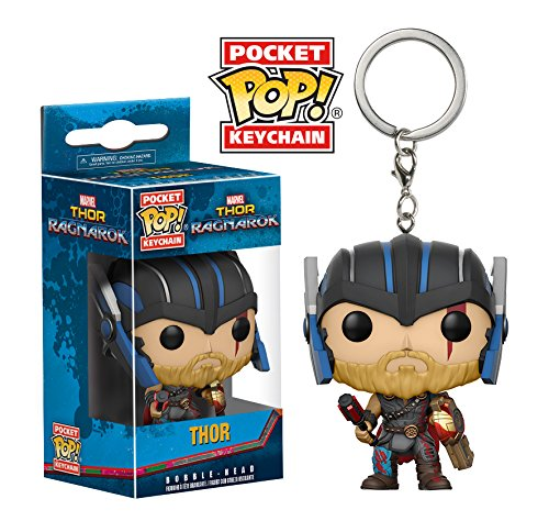 Funko Pocket POP! Marvel Keychain Thor Ragnarock - Thor Helmeted