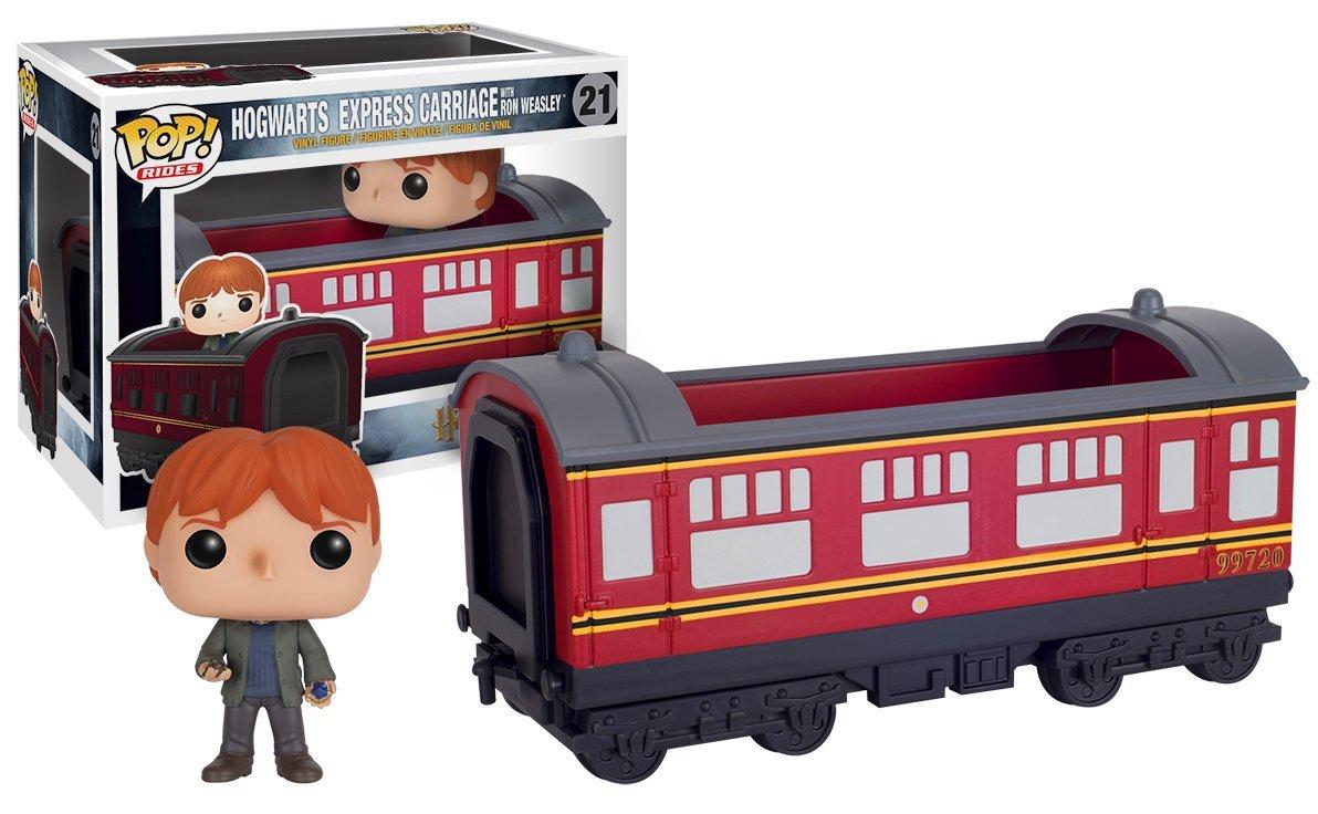 Funko POP Rides! - Hogwarts Express Traincar with Ron - Vinyl Figure 15 cm