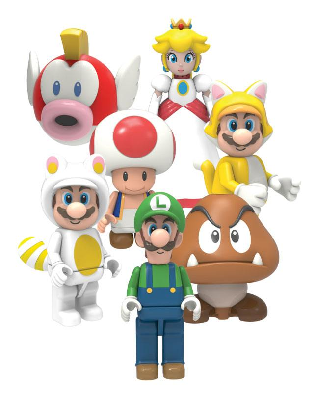 Super Mario Buildable K'NEX Figures Mystery Bag 5 cm