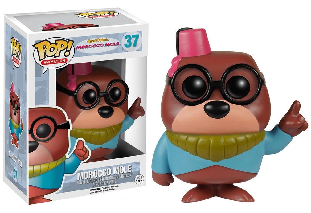 Hanna Barbera POP! Animation Vinyl Figure Morocco Mole 10 cm