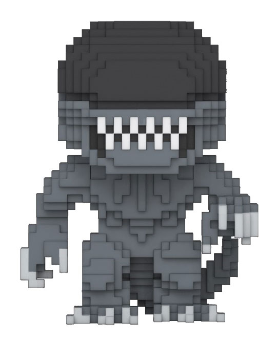 Alien 8-Bit POP! Horror Vinyl Figure Alien 10 cm