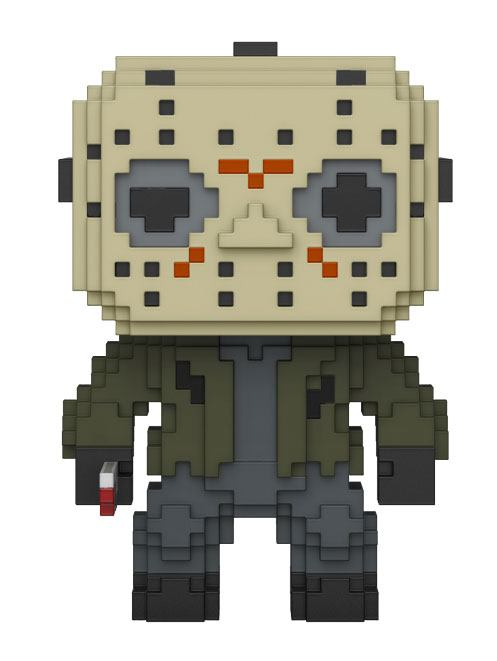 Friday the 13th 8-Bit POP! Horror Vinyl Figure Jason Voorhees 10 cm
