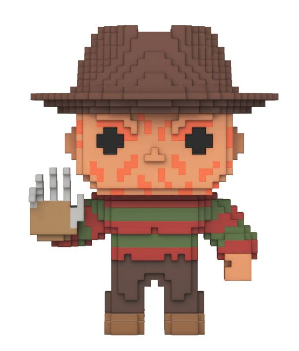 Nightmare On Elm Street 8-Bit POP! Horror Vinyl Figure Freddy Krueger 10 cm