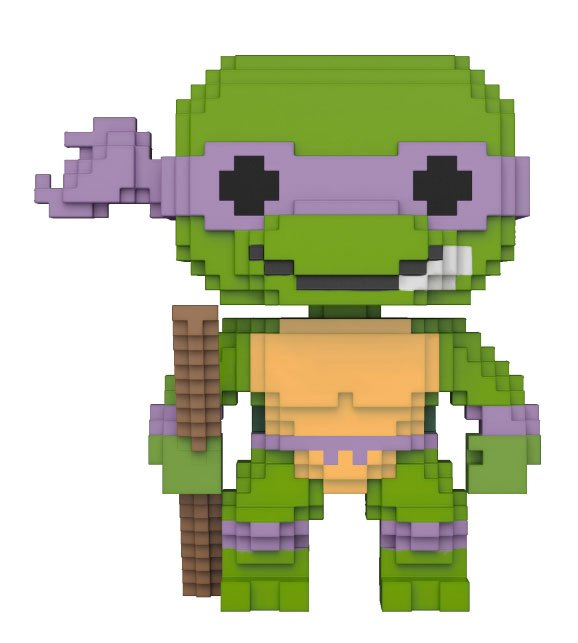 Teenage Mutant Ninja Turtles 8-Bit POP! Vinyl Figure Donatello 10 cm