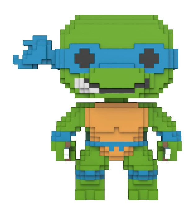 Teenage Mutant Ninja Turtles 8-Bit POP! Vinyl Figure Leonardo 10 cm