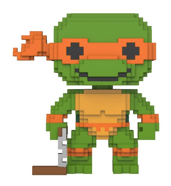 Teenage Mutant Ninja Turtles 8-Bit POP! Vinyl Figure Michelangelo 10 cm