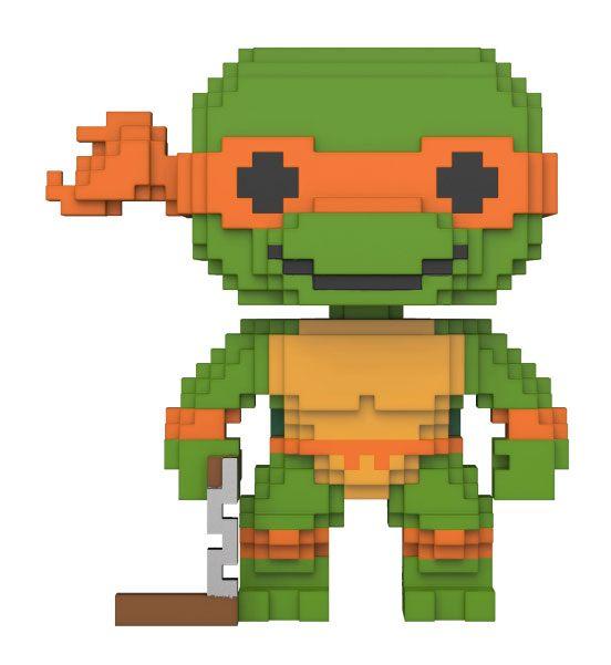 Teenage Mutant Ninja Turtles 8-Bit POP! Vinyl Figure Michelangelo 10 cm