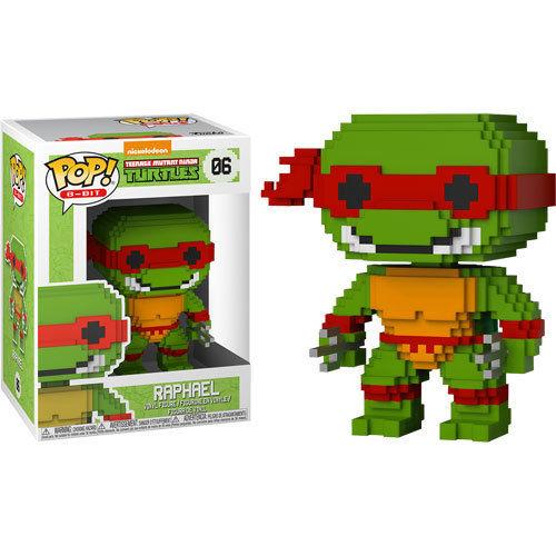 Teenage Mutant Ninja Turtles 8-Bit POP! Vinyl Figure Raphael 10 cm